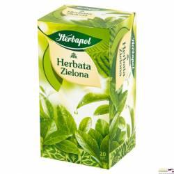 Herbata zielona HERBAPOL ekspresowa 20t * 2g
