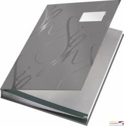 Książka do podpisu LEITZ szary 18 przegródek 57450085