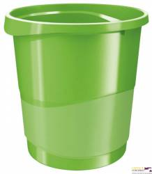 Kosz na śmieci ESSELTE EUROPOST VIVIDA 14l zielony 623950