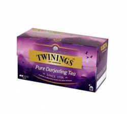 Herbata czarna Twinings Pure Darjeeling 50 g, 25 torebek z zawieszką