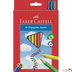 Kredki trójkątne FABER-CASTELL Junior Grip 30 kolorów 116530 FC