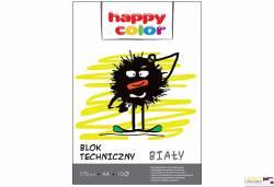 Blok techniczny biały 170g A3 HAPPY COLOR 3550 3040-0