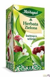 Herbata zielona HERBAPOL kwitnąca wiśnia 20 torebek