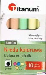 Kreda szk.kolor okr. 10 szt. 5801C10 75121