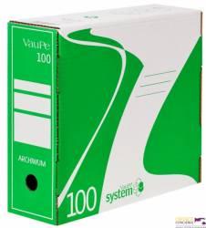 Pojemnik do arch.A4/10cm 435/06 zielony VAUPE