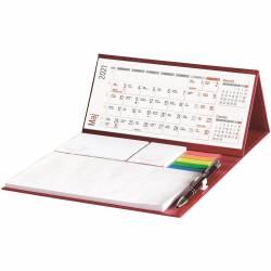 Kalendarz biurkowy z długopisem KB 063 B WOKÓŁ NAS