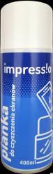 Pianka do czyszczenia ekranów IMPRESSIO (IMY-PIE400) 400ml pomarańczowy