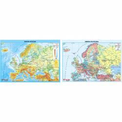 Podkład dwustronny MAPA EUROPY 0318-0050-99 P ANTA PLAST
