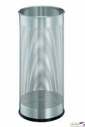 Stojak na parasole DURABLE srebrny metalowy okrągły 3350-23