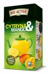 Herbata Big-Active Herbata czarna - CYTRYNA I MANGO, 20 torebek z zawieszką