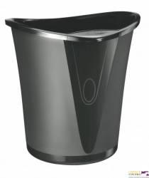 Kosz na śmieci LEITZ Allura 18 litrów czarny 52040095