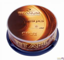 CD-R TITANUM - Cake Box 25 2025