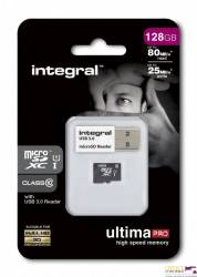 Pamięć MicroSD INTEGRAL 32GB MicroSDHC CL10 INMSDH32G10-90U1 ULTIMA PRO