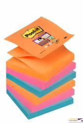 Bloczki 3M POST-IT Z-Notes 76x76mm BANGKOK 6x90k Super Sticky 70005252112
