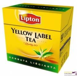 Herbata LIPTON yellow label, liściasta 100g czarna