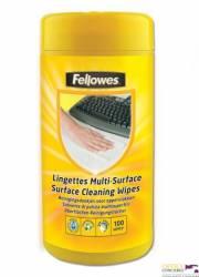Chusteczki do czyszczenia obudów FELLOWES (99719/99715) 100szt wilgotne
