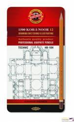 Ołówek tech.HB-10H kpl.1502/I technic KOHINOOR