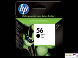 Tusz HP 56 (C6656AE) czarny 520str 450/5100/5150/5550/5600/5850