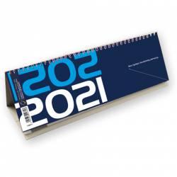 Kalendarz ze spiralką - poziomy 2021 T-100-2-01 Michalczyk i Prokop