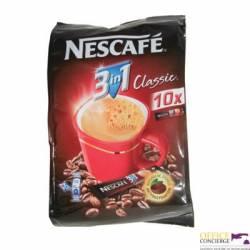 Kawa NESCAFE Classic rozpuszczalna 3w1, 10 torebek x 18g