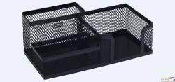 Przybornik na biurko MW-218 czarny metalowy GRAND 120-1334