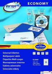 Etykiety ZF ECONOMY A4 70x25.4mm białe ELA009 AVERY ZWECKFORM