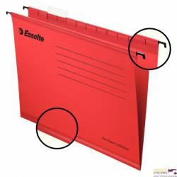 Teczki zawieszane A4 PENDAFLEX STANDARD czerwone 25szt ESSELTE 90316