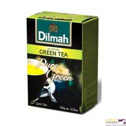 Herbata DILMAH Pure green zielona 100g SYPANA