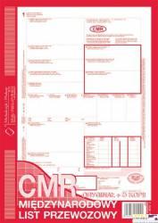 800-3 CMR A4 78kartek 1+5 międzynarodowy list przewozowy MICHALCZYK