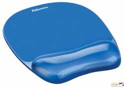 Podkładka Crystal pod mysz i nadgarstek niebieska FELLOWES 91141