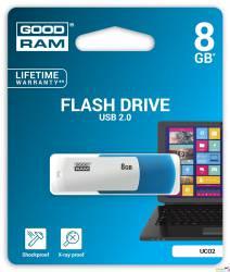 Pamięć USB GOODRAM 8GB UCO2 miks kolorów USB 2.0 UCO2-0080MXR11