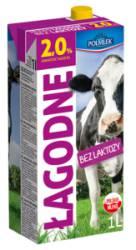 Mleko POLMLEK UHT bez laktozy 2% 1 litr