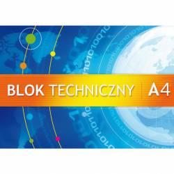 Blok tech. A4 10k 250g KRESKA