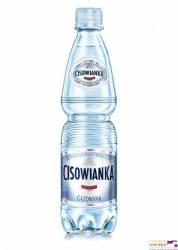 Woda Cisowianka gazowana 0, 5 litra