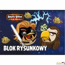 Blok rysunkowy A4 20k ANGRY BIRDS STAR WARS UNIPAP   0411@S0