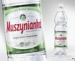 Woda Muszynianka zielona niskogazowana 1,5 litra