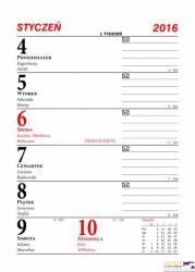 Kalendarz biurowy MERKURIER B1 BESKIDY