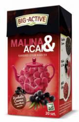 Herbata Big-Active Herbata czarna - MALINA i ACAI, 20 torebek z zawieszką