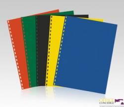Okład.do bind.A4 żółt.0.20(100 BIURFOL OK-17-34