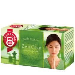 Herbata zielona Teekanne Green Zen Chai z cytryną i mango, 20 torebek