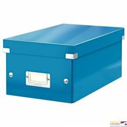 Pudło na DVD LEITZ C&S WOW niebieski 60420036