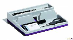 Przybornik na biurko SMART OFFICE 761312 j.fi fioletowy VARIOCOLOR DURABLE