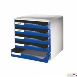 Moduł szuf.5szt.5280-35 LEITZ niebieski