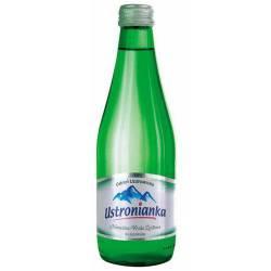 Woda mineralna Ustronianka poj. 0,33 litra (12 szt) w szklanej butelce, niegazowana
