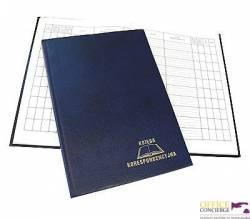 Książka korespondencyjna A4 192k - granat WARTA 1824-229-014