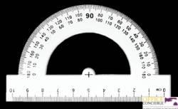 Kątomierz 10cm  BL005-A TETIS