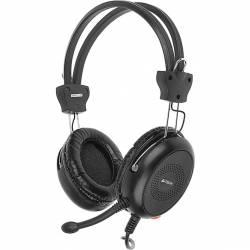 Słuchawki z mikrofonem A4TECH HS-30 czarne A4TSLU29942