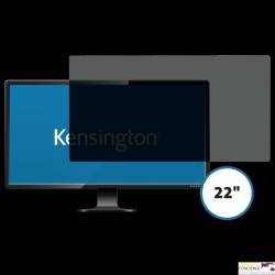"Kensington privacy filter 2 way removable 55.8cm 22"" Wide 16:10 626483"
