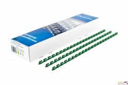 Grzbiet do bindowania DATURA 16mm (100szt) zielony