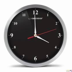 Zegar ścienny DETROIT czarny EHC009K ESPERANZA